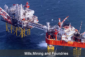 Mills,Mining and Foundries